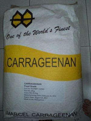 phụ gia thực phẩm carrageenan