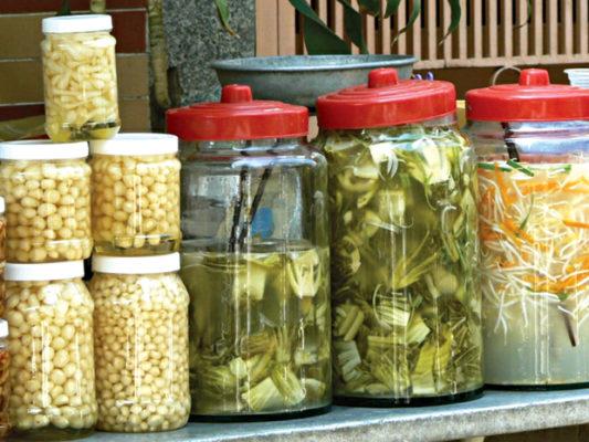 các phương pháp bảo quản thực phẩm, phương pháp muối chua