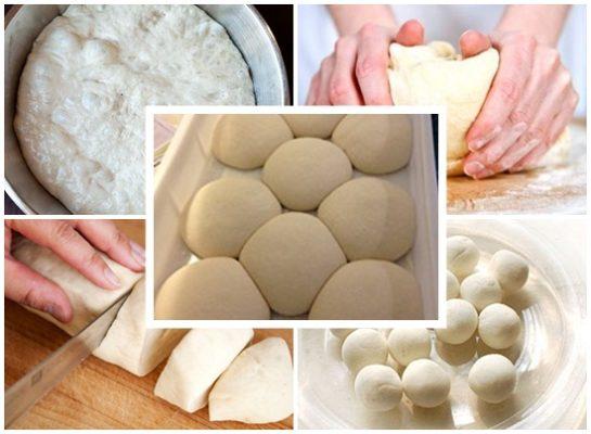 cách làm bánh bao không cần bột nở, bước ủ bột