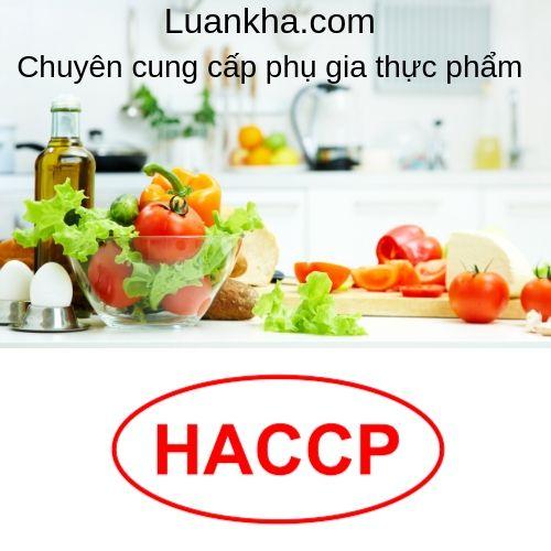 tiêu chuẩn vệ sinh an toàn thực phẩm haccp