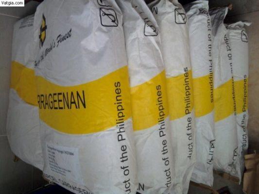 sản xuất carrageenan trong thực phẩm
