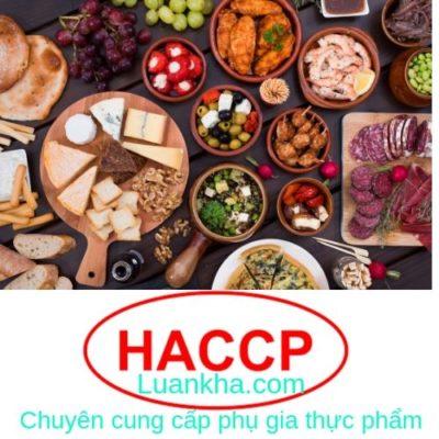 tiêu chuẩn vệ sinh an toàn thực phẩm haccp - luan kha