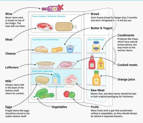 cách bảo quản thực phẩm an toàn
