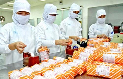 quy trình chế biến thực phẩm