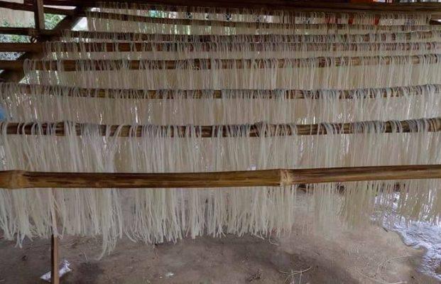 quy trình sản xuất bún khô hiện đại