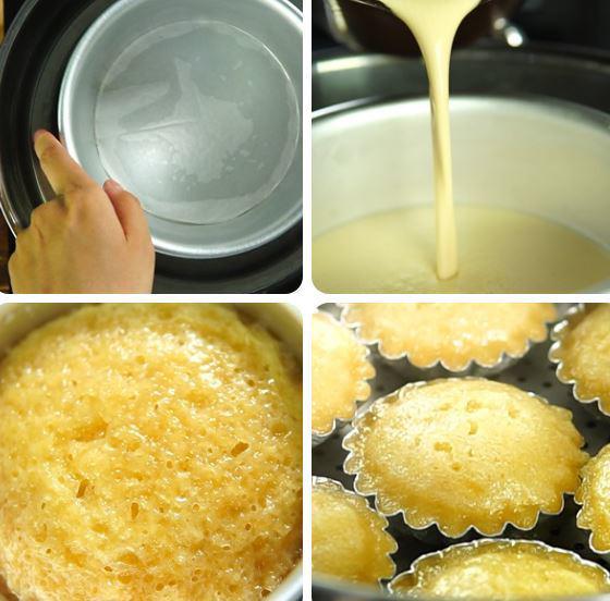 cách làm bánh bò