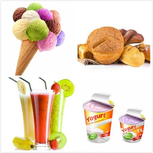 Kết quả hình ảnh cho ứng dụng của gum trong thực phẩm