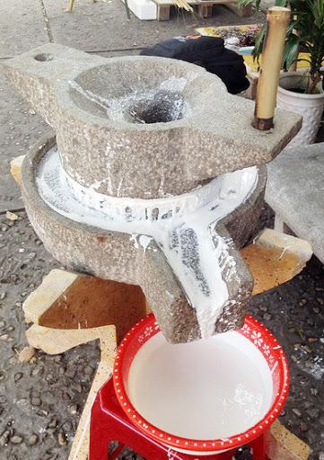 quy trình sản xuất bánh phở hiện đại