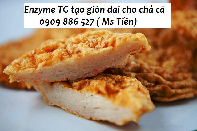 Ứng dụng Enzyme TG tạo giòn dai cho chả cá | Công ty TNHH LIME VN