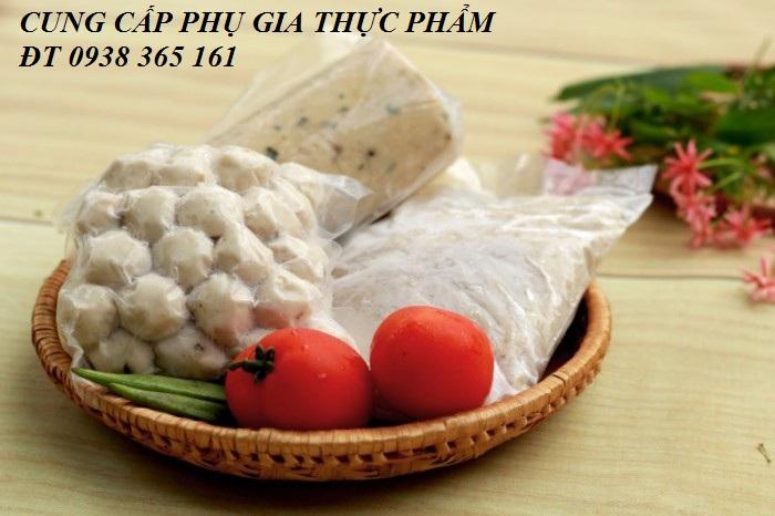 Chất tạo dai giòn thay thế phosphate- enzym transglutaminase