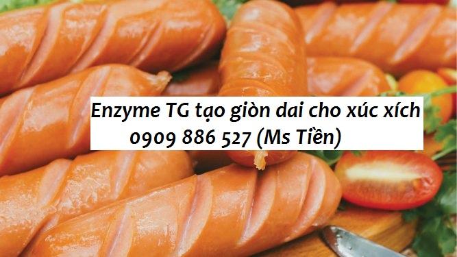 Ứng dụng enzyme TG tạo giòn dai cho xúc xích | Công ty TNHH LIME VN
