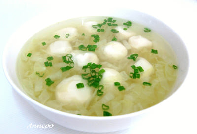Fish Balls Soup 鱼圆汤 - Anncoo Journal