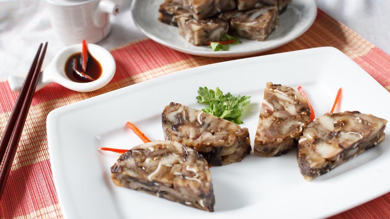 Cách Làm Giò Tai Heo Ngon Sần Sật Cho Ngày Tết - Nhà hàng Quá Ngon