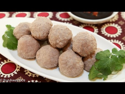 Beef Meatballs (Bo Vien) - YouTube