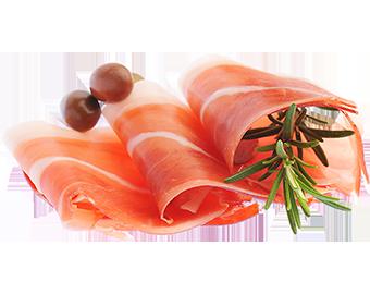 Dăm bông khô cắt lát/ Parma ham style dry pork round end sliced ...