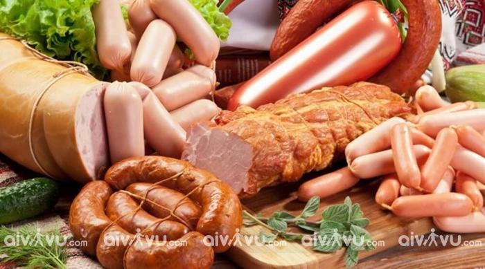 Cấm mang thịt và các sản phẩm làm từ thịt ra nước ngoài
