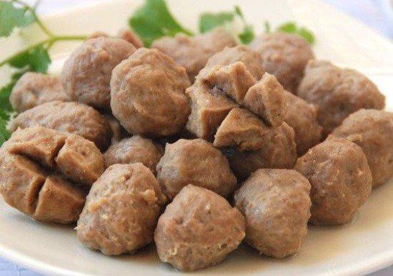 Bò Viên Gân - THY FOOD chuyên bỏ sỉ đồ chiên xiên que giá gốc ...