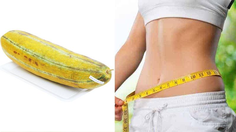 Dưa gang giúp giảm cân