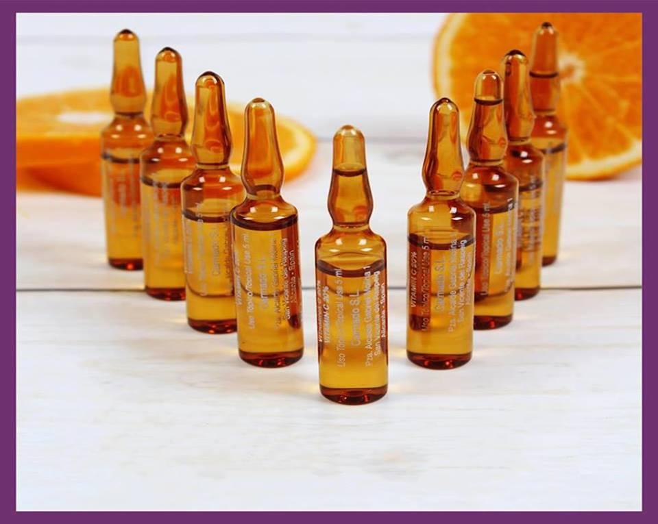 Vitamin C Làm Trắng Da Tự Nhiên Tây Ban Nha- spa ngoc trinh
