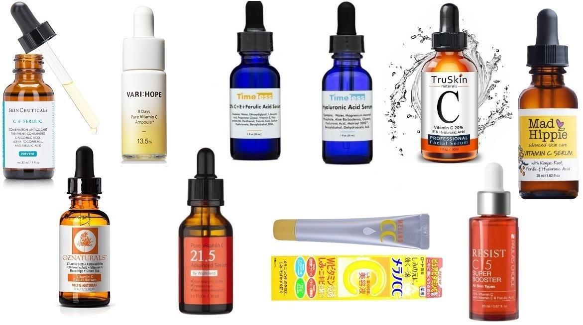Kể Tên 10 Serum Vitamin C Nào Tốt Nhất Để Sử Dụng Hàng Ngày 2020