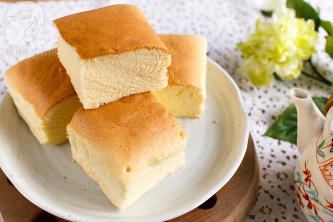 Công thức chuẩn làm bánh bông lan Đài Loan đang hot rần rần - Ảnh 8.