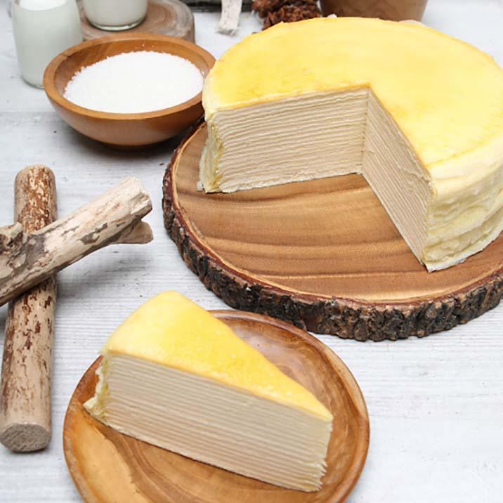 Bánh crepe sầu riêng ngàn lớp