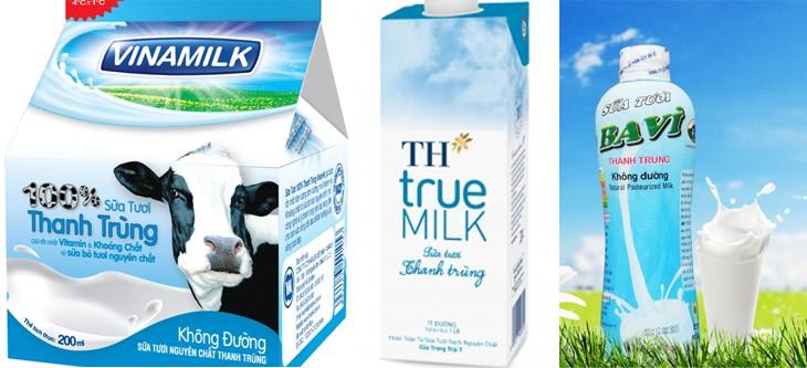 Sữa tiệt trùng