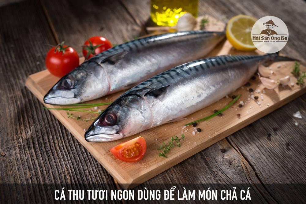 6 bước đơn giản tự làm chả cá thu ngon thơm hết ý - Dạy nấu ăn ngon - Hải Sản Ông Ba - Mực Khô, Chả Mực, Cá Khô - Thương