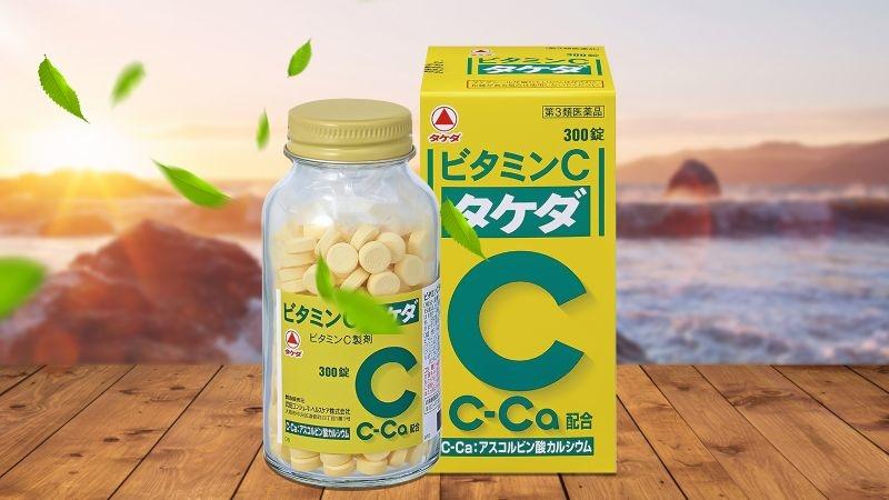 Viên uống Vitamin C-Ca Takeda 2000mg trắng da trị nám 300 viên Nhật Bản -  P15335 | Sàn giao dịch Thương mại điện tử của Bưu điện Việt Nam