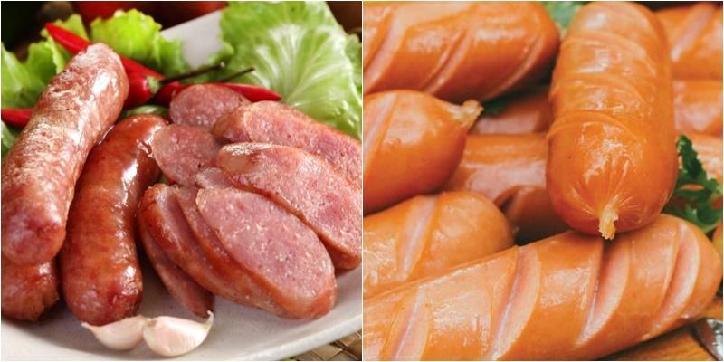 Thịt lợn rớt giá nhưng xúc xích chả lụa vẫn tăng và giá vẫn trên trời...