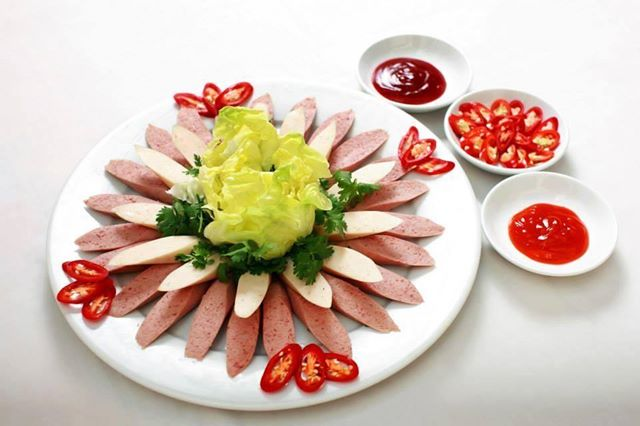 Trang trí đĩa thịt nguội | miumiucooking