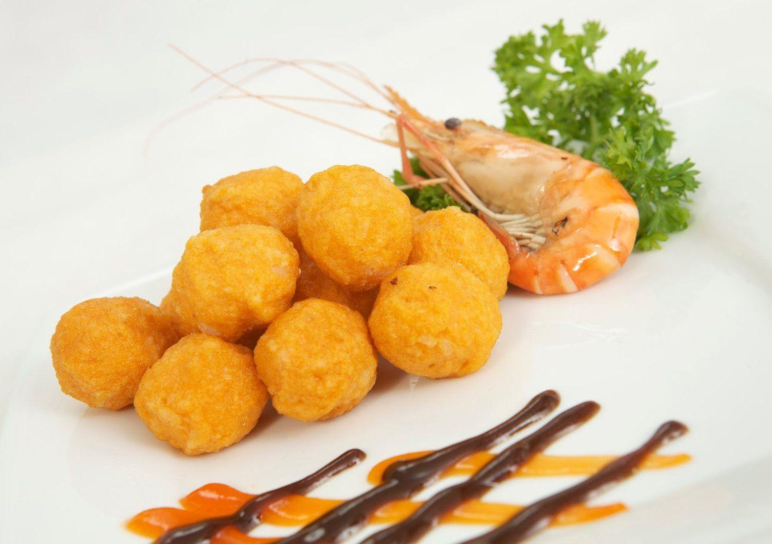 Tôm Viên Ngon | Protein, Xúc xích, Khoai tây