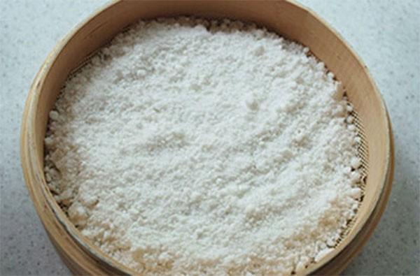 Bột gạo nếp - cách nấu chè lam