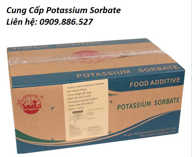 bảo quản potassium sorbate
