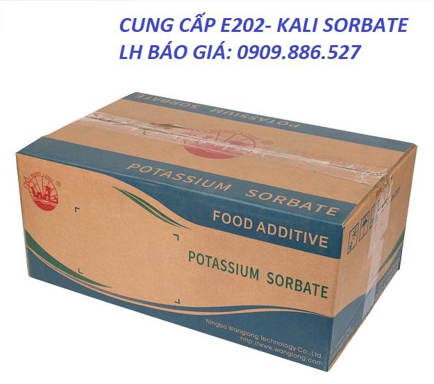 Nơi bán Potassium Sorbate (C6H7KO2) uy tín