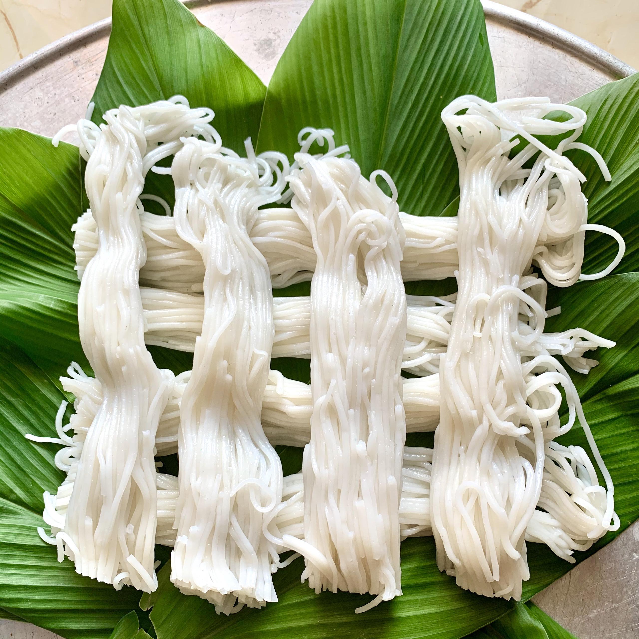 """Bún tươi truyền thống""""- Nét đẹp Ẩm thực của người Tày huyện Văn Quan, Lạng Sơn"""