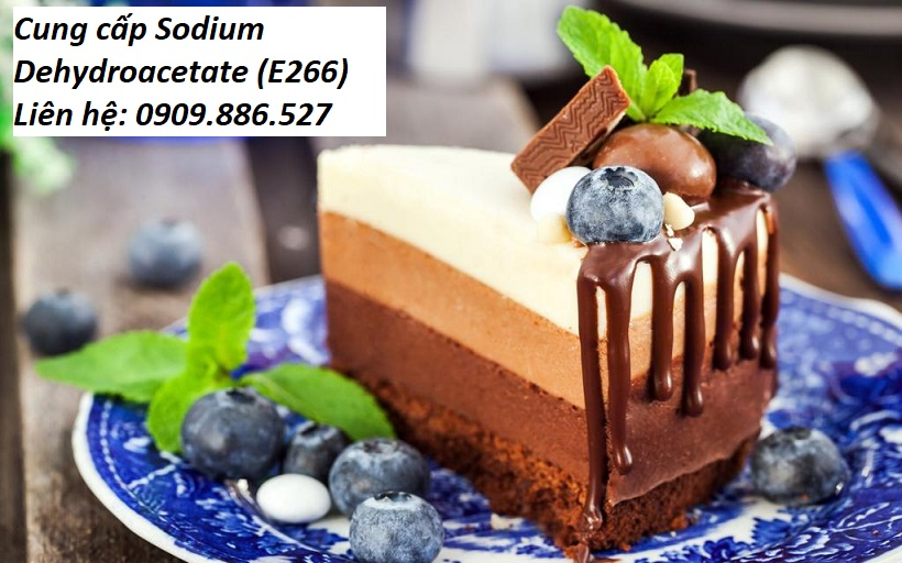 Phân phối chất bảo quản sodium dehydroacetate