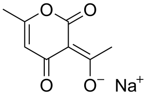 Sodium Dehydroacetate chemical structure