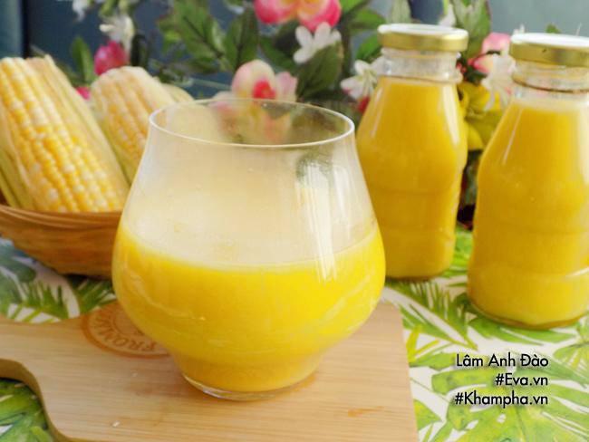 Cách làm sữa ngô ngon tại nhà mà an toàn bổ dưỡng - Công thức món ngon