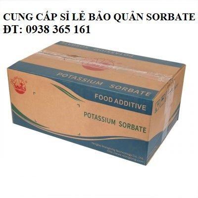 chất bảo quản được phép sử dụng potassium (kali) sorbate