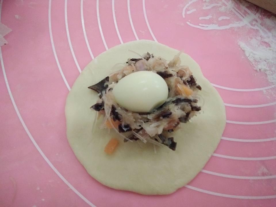 Cách làm bánh bao nhân thịt vừa mềm vừa trắng, ai cũng mê - 4