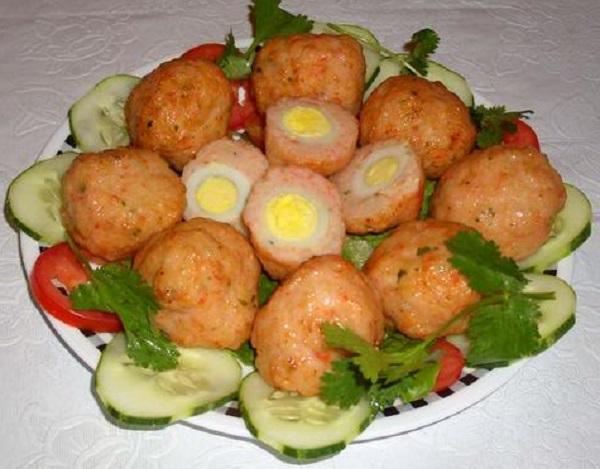 Tự làm ở nhà món chả cá viên trứng cút | bepmoi682015
