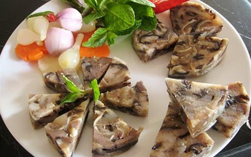 Hình thực hiện - Công thức Cách làm Giò Thủ xào bằng khuôn thơm ngon đậm đà ngày tết | Cooky.vn