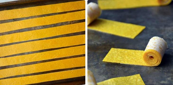 Bước 3 Hoàn thành Bánh tráng xoài dẻo