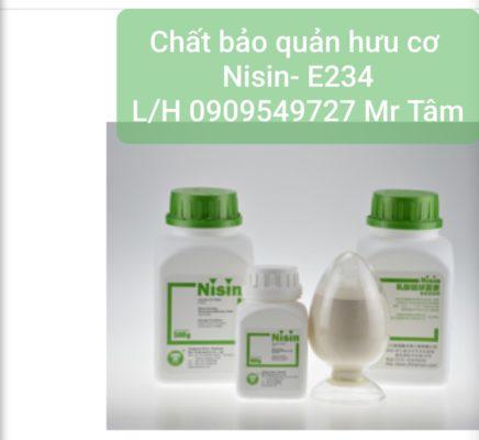chất bảo quản hữu cơ nisin