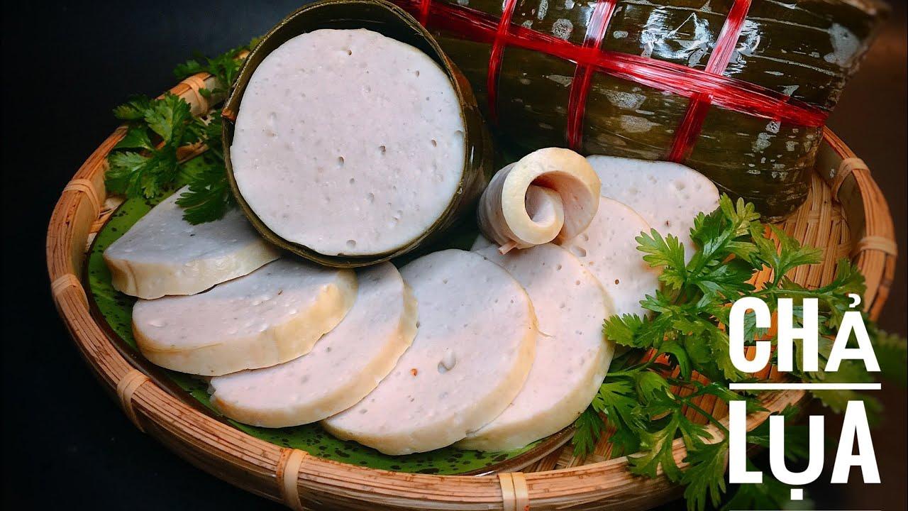 Cách làm Chả Lụa giòn dai đơn giản dễ thành công bằng máy Kitchen aid (  Vietnamese Pork Ham ) - YouTube