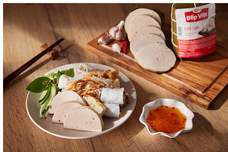 Giò lụa Bếp Việt tươi ngon, giao hàng tận nơi