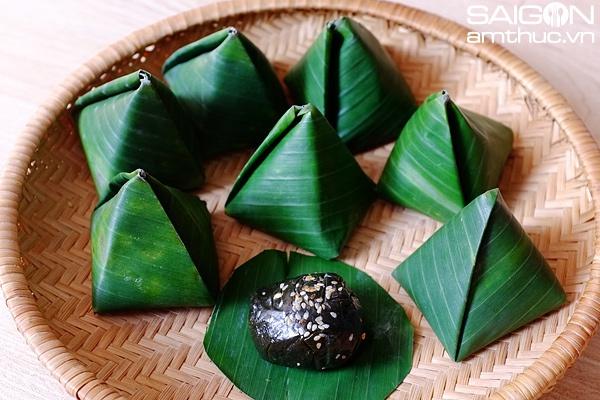 Làm bánh ít lá gai kiểu Bình Định tuyệt ngon | Ẩm thực | Thanh Niên