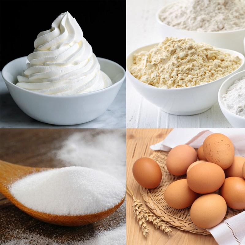 Nguyên liệu món ăn bánh mì hoa cúc - harrys brioche bread