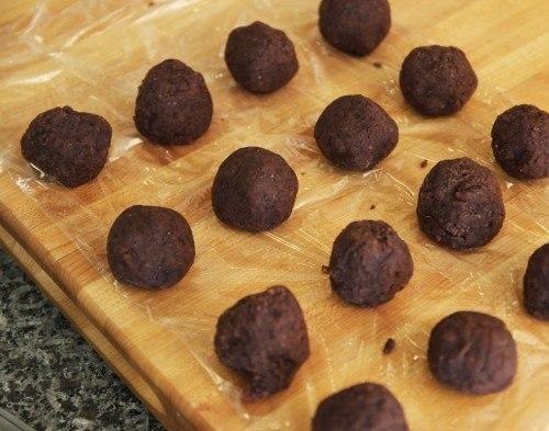 Bước 1 Làm nhân bánh Bánh Mochi nhân đậu đỏ